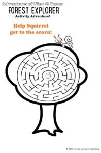 maze activity from Forest Explorer